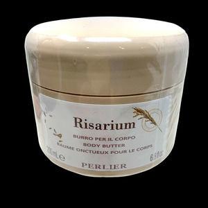 New Perlier Risarium Body Butter Moisturizer Large 6.8 oz Tub Sealed